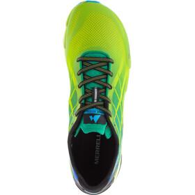 Merrell Bare Access Flex - Chaussures running Homme - vert/bleu